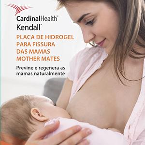 Placas de hidrogel para fissura nas mamas
